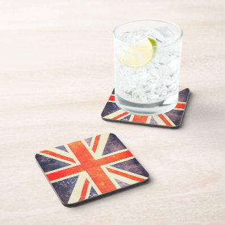 Vintage Union Jack flag Coaster