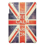 Vintage Union Jack flag keep calm and carry on Case For The iPad Mini