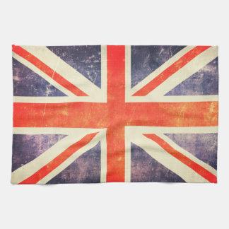 Vintage Union Jack flag Towel