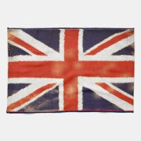 Vintage Union Jack Golf Towel