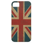 Vintage Union Jack iPhone 5 Case-Mate Cárcasa