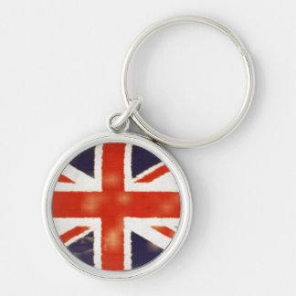Vintage Union Jack Premium Keychain