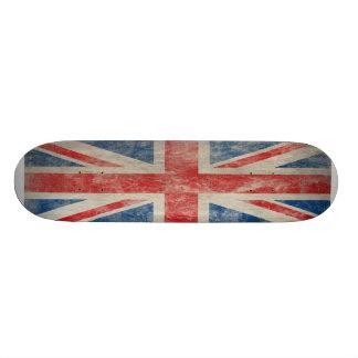 Vintage Union Jack Skate Board