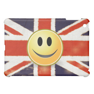 Vintage Union Jack Smiley Face  Cover For The iPad Mini