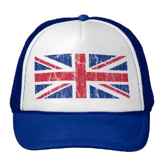 Vintage Union Jack Trucker Hat