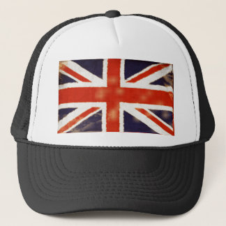 Vintage Union Jack Trucker Hat