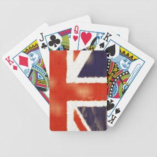 Vintage Union Jack UK Flag Playing Cards