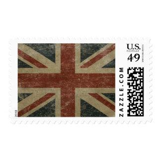 Vintage United Kingdom Flag Stamp