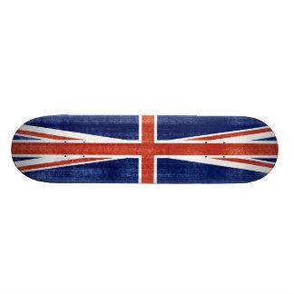 Vintage United Kingdom Flag - Skateboard
