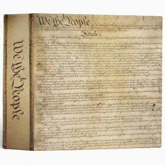 Vintage United States Constitution Binder