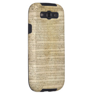 Vintage United States Constitution Samsung Galaxy SIII Cover