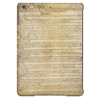 Vintage United States Constitution Cover For iPad Air