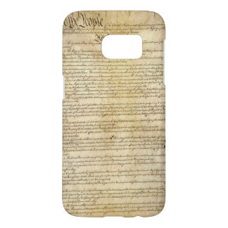 Vintage United States Constitution Samsung Galaxy S7 Case