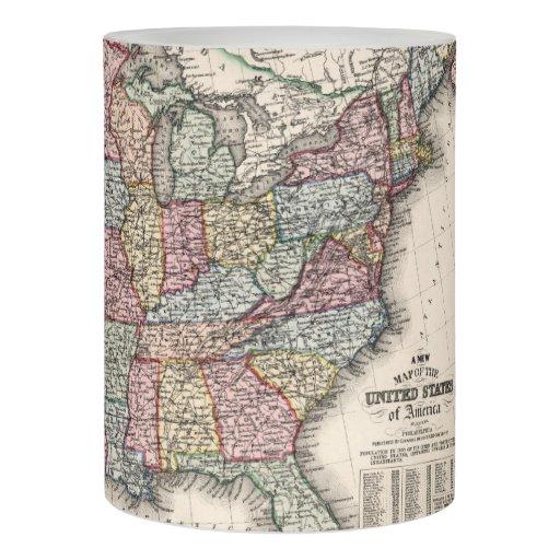1860 United States Map