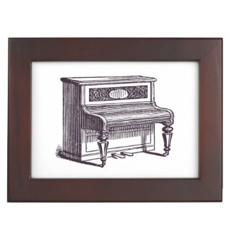 Vintage Upright Piano Memory Boxes