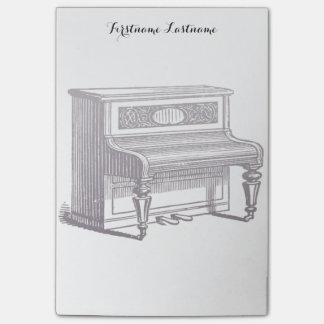 Vintage Upright Piano Post-it Notes