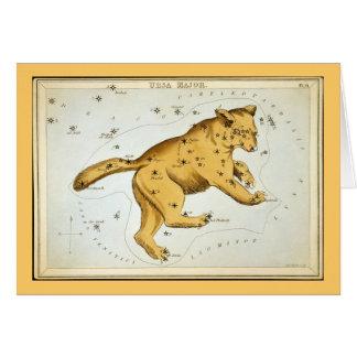Vintage Ursa Major Bear Card