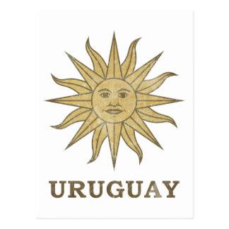 Vintage Uruguay Postcard