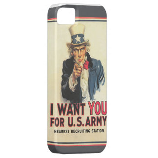 Vintage US Army Recruitment Poster IPhone case