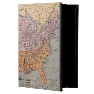 Vintage US Civil War Era Map 1861 iPad Air Covers