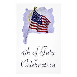 Vintage US Flag Custom Flyer