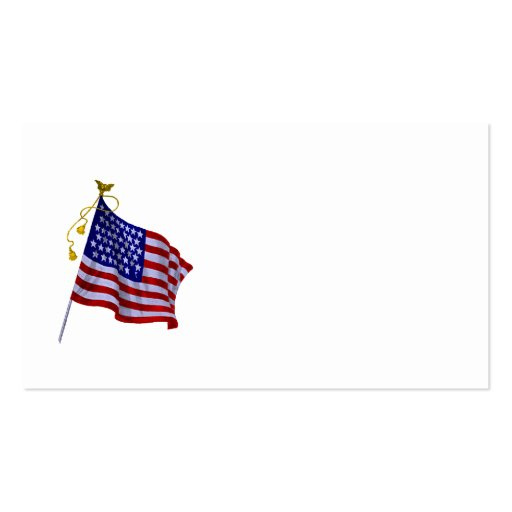 American flag business card business card templates for Patriotic business card template