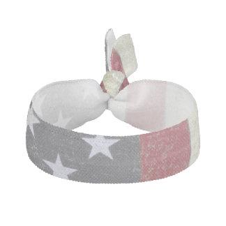 Vintage US Flag Ribbon Hair Tie