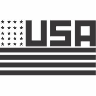 Vintage USA Cutout