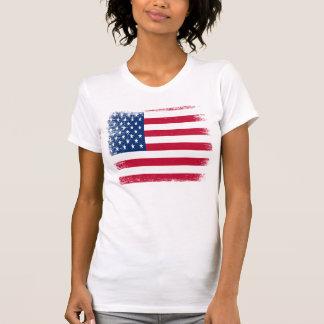 Vintage USA Flag American Apparel Jersey T Shirt