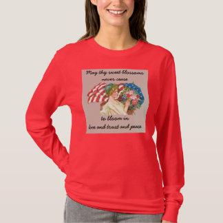 vintage usa flag and lady liberty T-Shirt