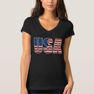 Vintage USA Flag Apparel T-Shirt