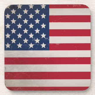 Vintage USA Flag Coaster