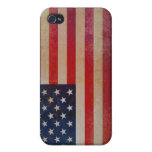 Vintage USA Flag iPhone 4/4s Speck Case iPhone 4 Covers