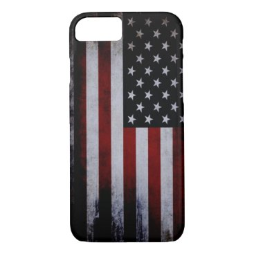 USA Themed Vintage USA Flag iPhone 7 case! iPhone 7 Case