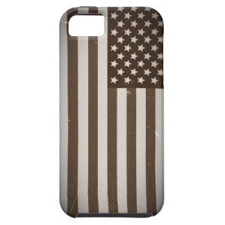 Vintage USA Flag iPhone SE/5/5s Case