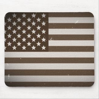 Vintage USA Flag Mouse Pad