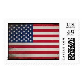 Vintage USA Flag Postage Stamp