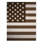 Vintage USA Flag Postcards