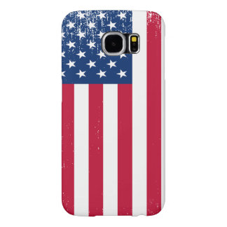 Vintage USA Flag Samsung Galaxy S6 Case