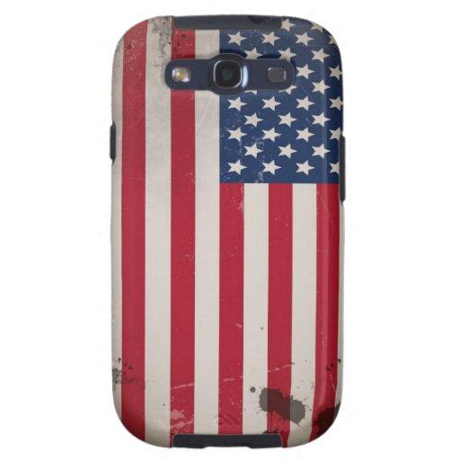 Vintage USA Flag Samsung Galaxy SIII Case