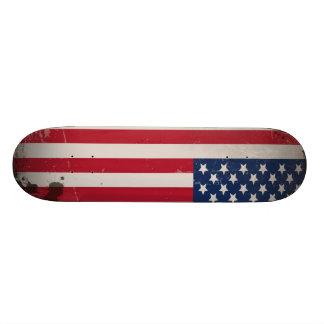 Vintage USA Flag Skateboard Deck
