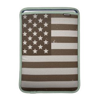 Vintage USA Flag Sleeve For MacBook Air