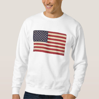 Vintage USA Flag Sweatshirt