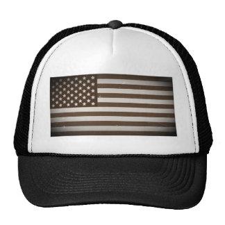 Vintage USA Flag Trucker Hat