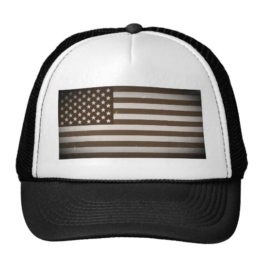 Vintage USA Flag Trucker Hat