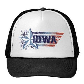 Vintage USA Flag with Star – Iowa Trucker Hat
