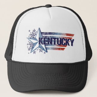 Vintage USA Flag with Star – Kentucky Trucker Hat