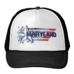 Vintage USA Flag with Star – Maryland Trucker Hats