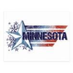 Vintage USA Flag with Star – Minnesota Postcards