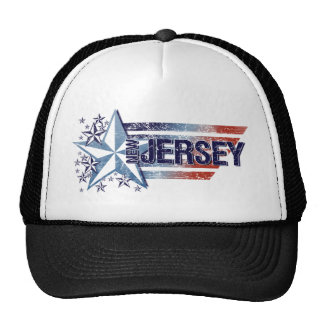 Vintage USA Flag with Star – New Jerseyy Trucker Hat